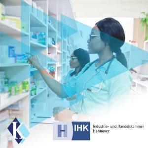 Two nurces preparing drugs for patients / U.S. Healthcare Market